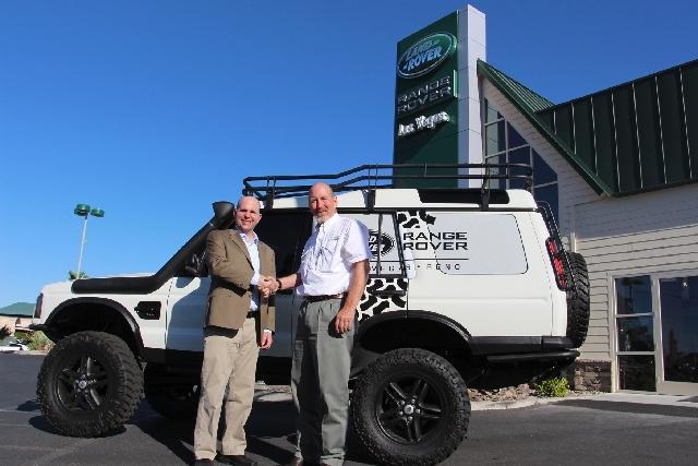 Range Rover Las Vegas >> Land Rover Helps Nature Conservancy Las Vegas Review Journal