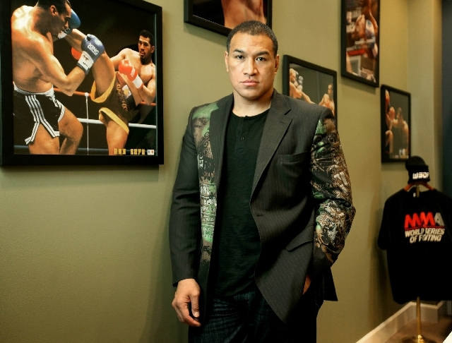 Ray Sefo sees a wide world of potential for the newly minted World Series of Fighting. He is the company's president and also a participating fighter.