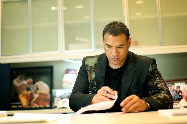 The business of fighting has been a way to success for Ray Sefo.