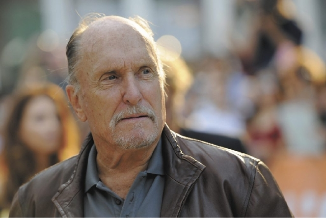 """Robert Duvall, was one of the spectators at the racketeering trial of reputed gangster James """"Whitey"""" Bulger. Duvall sat in the back of the courtroom Friday, June 21, 2013 at Bulger's trial in Boston."""