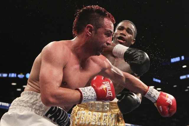 """Paul Malignaggi, left, said if he doesn't get an immediate rematch with Adrien Broner, """"I'm going to retire and go back to Showtime,"""" where he works as a color commentator."""
