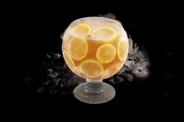 Sunshine Tea Goblet