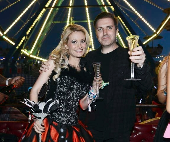 Electric Daisy Carnival founder Pasquale Rotella proposed to Holly Madison  on Monday during a Ferris wheel ride.