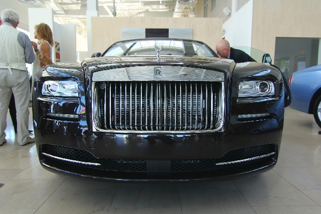 Towbin Motorcars held a lavish cocktail party recently to unveil the new Rolls-Royce Wraith to about 75 guests.