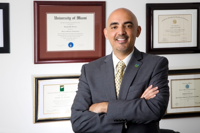 Joseph Ferreira, president and chief executive officer of the Nevada Donor Network.