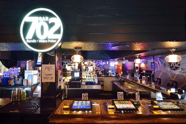 The interior of Bar 702 at 3355 Spring Mountain Road in Las Vegas is seen Wednesday.