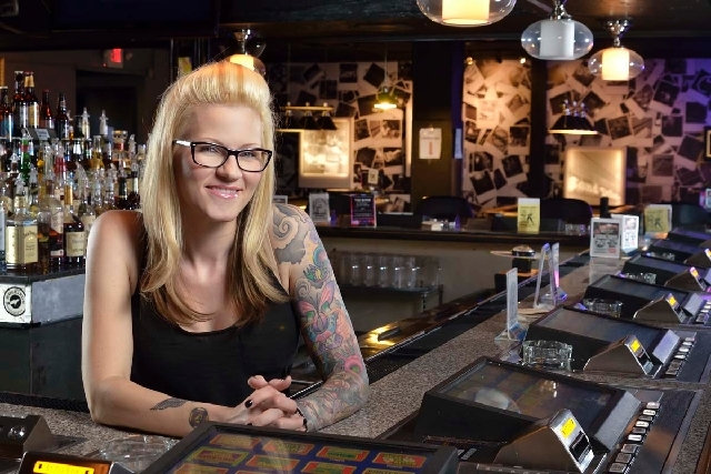 Bar 702 at 3355 Spring Mountain Road in Las Vegas has been re-created after being known as the Bikini Bar in recent years. Lisa Guerena is the general manager and one of the new owners of the bar  ...