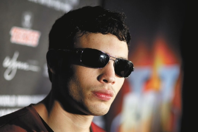 Julio Cesar Chavez Jr. , shown here Sept. 11, tested positive for marijuana metabolites after his Sept. 15 fight against Sergio Martinez. He was fined $900,000 by the Nevada Athletic Commission. O ...