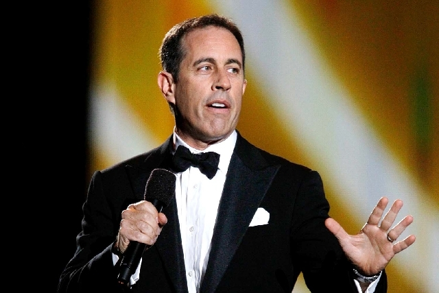 Jerry Seinfeld performs.