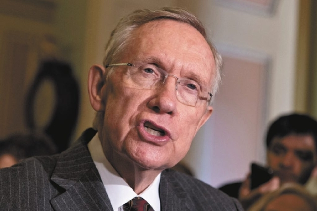 "U.S. Sen. Majority Leader Harry Reid, D-Nev., cites climate change as a reason for dry forests and more wildfires. ""The West is burning,"" he said Wednesday. ""I could be wrong but I don't think we' ..."