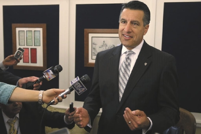 Nevada Gov. Brian Sandoval could be the reason that Nevada becomes the state where a court case on gay marriage could reach the U.S. Supreme Court. Sandoval is willing to fight for the ban on gay  ...