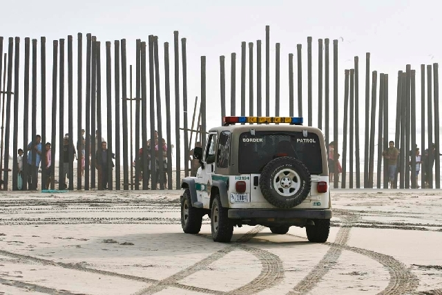 """Rallies planned in Las Vegas, Tucson, El Paso, San Diego, San Francisco and Houston on Wednesday night oppose the """"militarization"""" of the U.S.-Mexico border. In this 2009 photo, a U.S. Border Patr ..."""