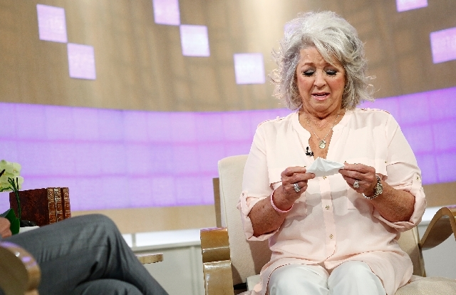 "Celebrity chef Paula Deen appears on NBC News' ""Today"" show, with host Matt Lauer on June 26, 2013 in New York."