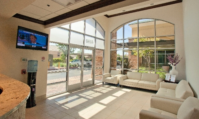 The Sedation Dental Surgical Center lobby is seen at 4090 N. Martin Luther King Blvd. Dr. Steven Delisle's fifth Southern Nevada Sedation Dental location began welcoming patients June 3.