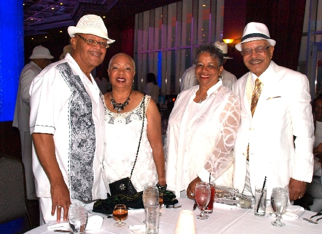 Mal Mace, from left, Lorraine Ballard, and Carol and Calvin Padgett