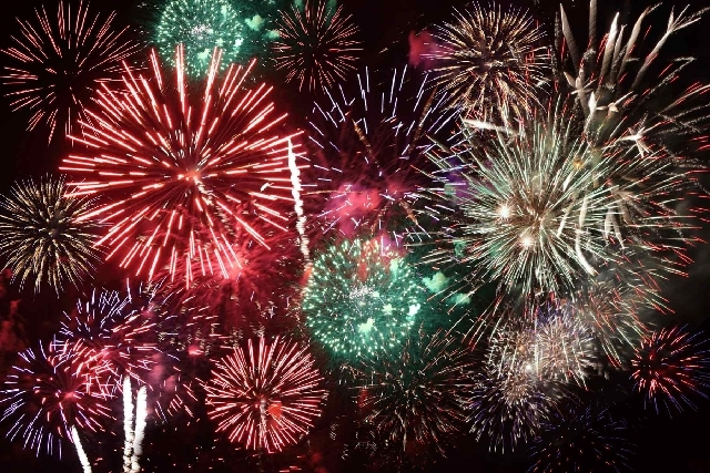 Fireworks are beautiful to watch, but those that explode in the sky cannot be used at home celebrations.