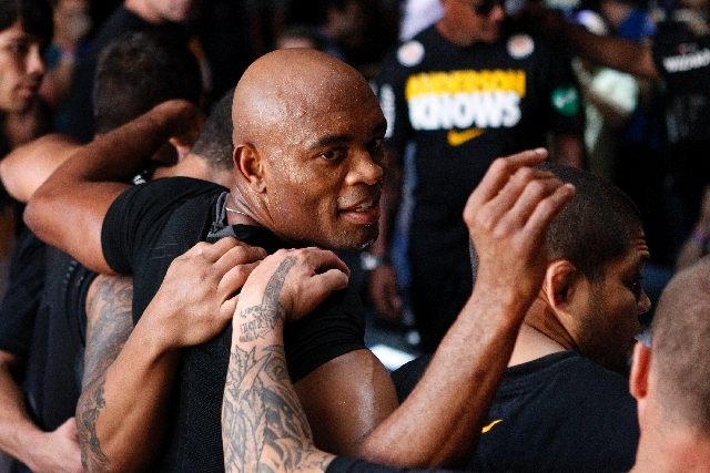 Anderson Silva, who faces Chris Weidman in the main event of UFC 162 on Saturday at the MGM Grand, is considered by U.S. media to be less than quotable, but the middleweight champion prefers to le ...