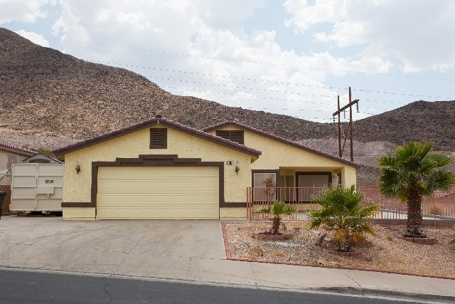 363 Eveningside Avenue in Henderson is seen where a Henderson SWAT team was called about a domestic violence dispute. Henderson Police are being accused of illegally breaking into a nearby Anthony ...