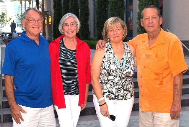 Davor and Barbara Jedlicka, from left, and Peg and Carmine Vannella