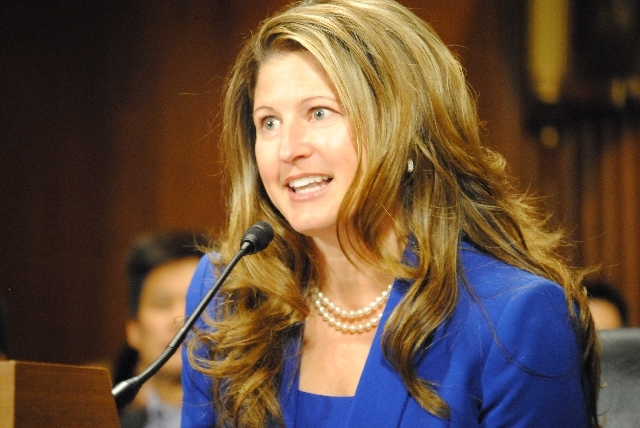 Jennifer Dorsey was confirmed by the U.S. Senate Tuesday to become a federal judge in Nevada.
