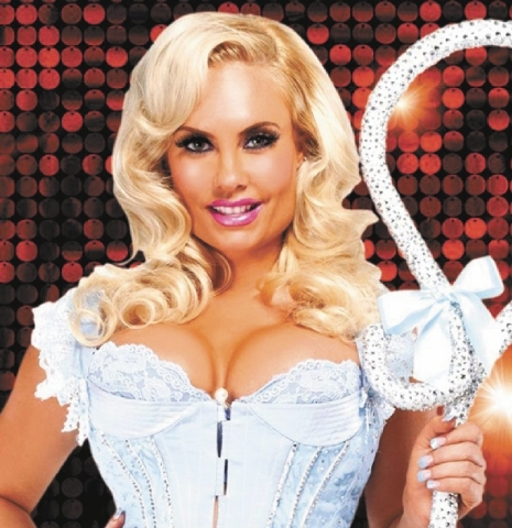 """Coco Austin in """"Peepshow"""" at Planet Hollywood."""