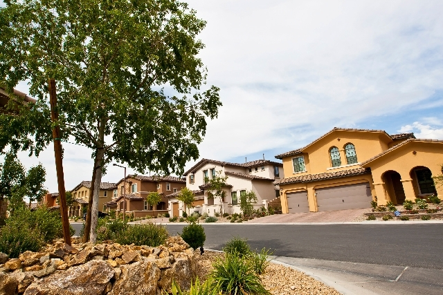The Paseos is nestled along the base of Red Rock Canyon National Conservation Area and features Summerlin's signature streetscaping.