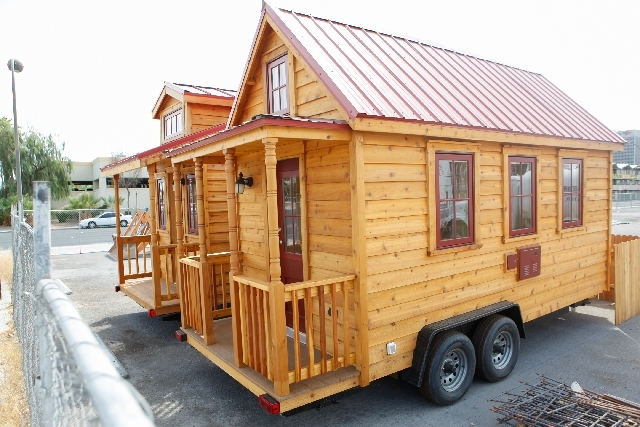 Swell Tiny Houses To Go Pop Up In Downtown Las Vegas Las Vegas Home Interior And Landscaping Palasignezvosmurscom