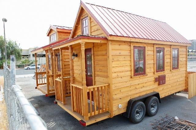 Tiny 'Houses To Go' Pop Up In Downtown Las Vegas – Las Vegas