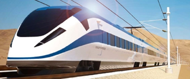 The federal government has halted its review of a multibillion-dollar loan request for a high-speed train to connect Las Vegas with Southern California, two lawmakers said in a letter made public  ...