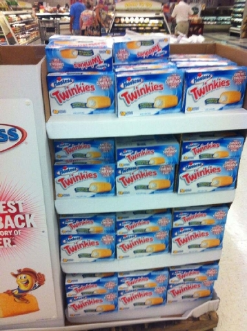 Twinkies available at a Smith's Food & Drug Store in Summerlin