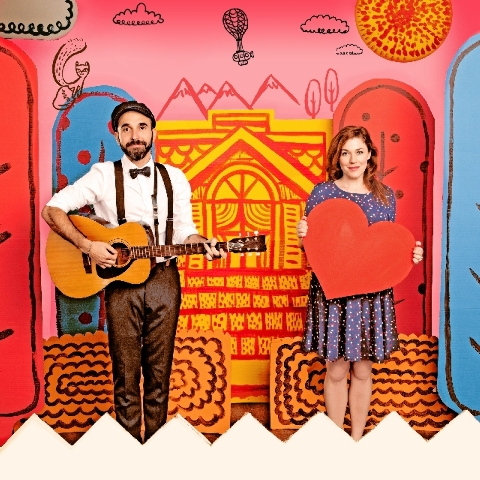 Lucky Diaz and Alisha Gaddis, along with various guest musicians, will play Wednesday and Thursday at the Charleston Heights Arts Center and the Historic Fifth Street School.