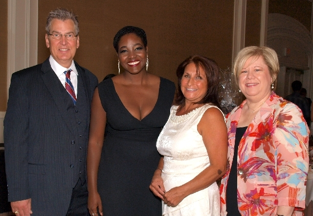 George Alexander, from left, Yanne Givens, Loretta Moses and Debbie Donaldson