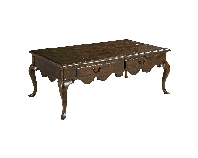 Kincaid Furniture Co. specializes in making solid-wood furnishings, such as this cocktail table from its Artisan's Shoppe collection.