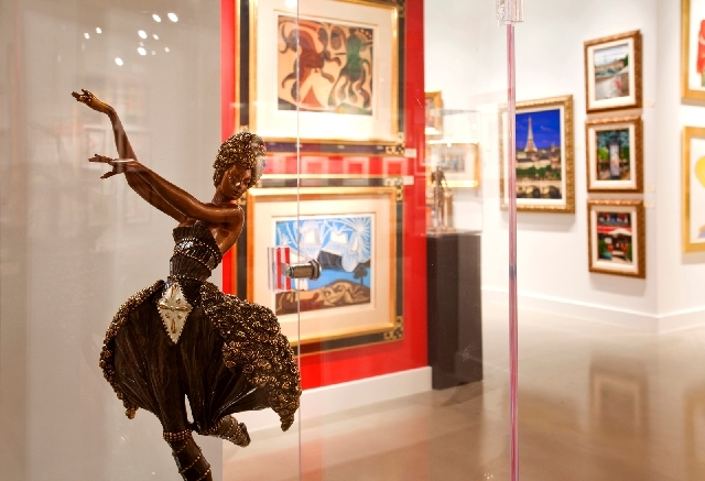 Martin Lawrence Galleries at the Forum Shops at Caesars will be the site of Art of the Party II on Saturday.