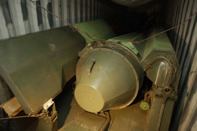Military equipment lays in containers aboard a North Korean-flagged ship at the Manzanillo International container terminal on the coast of Colon City, Panama, Tuesday. A North Korean ship carryin ...