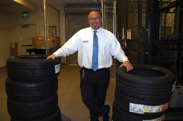 Parts Manager Tim Carr says customers can feel confident about finding the right part quickly for their automobile at Lexus of Henderson.