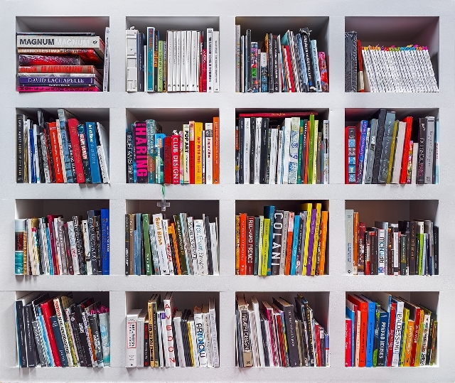Portraits of community members' bookshelves by photographer Walter Jacques Taieb are on display from July 25 to Sept. 23 at the Nevada State Museum, 309 S . Valley View Blvd.