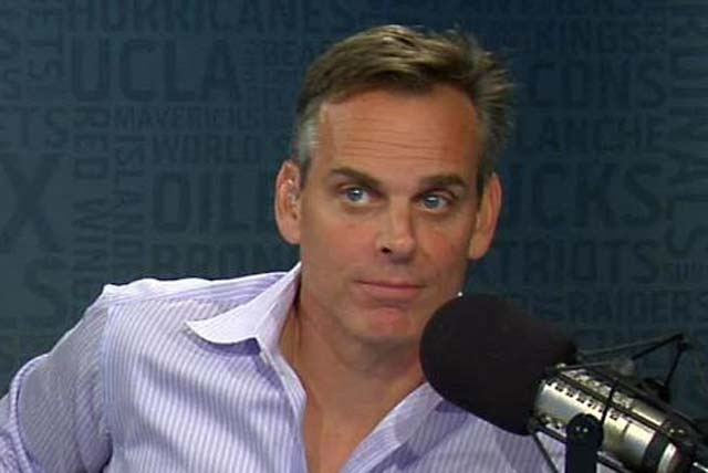 ESPN's Colin Cowherd coming home for an induction honor.