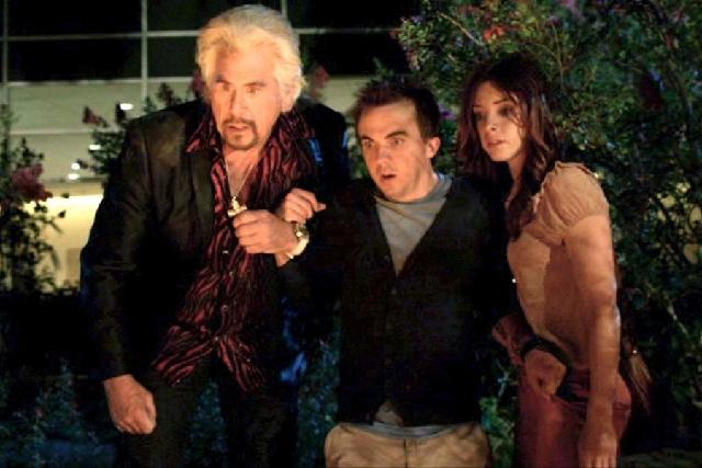 "Barry Bostwick, Frankie Muniz and Maggie Castle star in ""Blast Vegas"" on Syfy."
