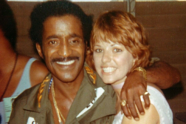 "Janice ""Cinnamon"" Steen Fahey performed for American troops with Sammy Davis Jr. on a USO tour of Vietnam in the 1970s."