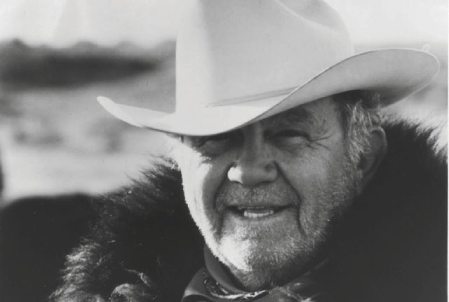 Casino legend Benny Binion, shown, was a longtime friend of the recently deceased R.D. Matthews.