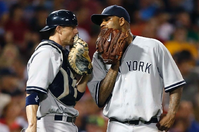 """C.C. SABATHIA, Yankees: """"I never would have thought it, but I guess you never know,"""""""