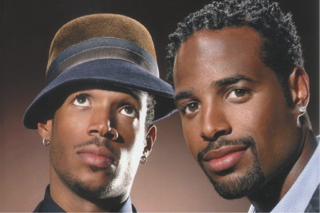 Shawn and Marlon Wayans are scheduled to perform stand-up at The Pearl at the Palms hotel-casino on Saturday.