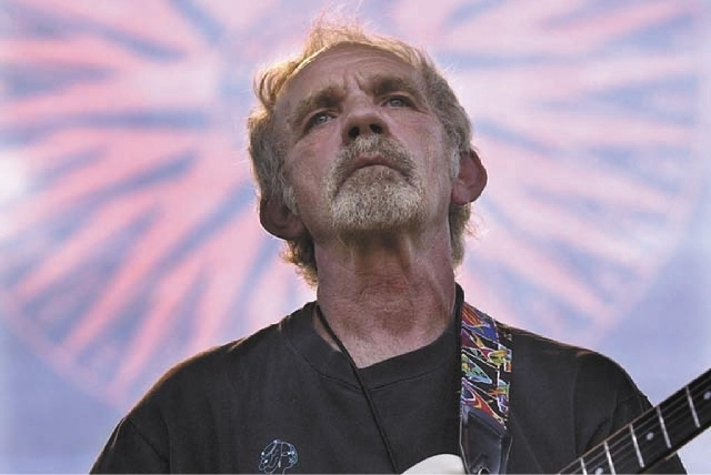 JJ Cale performs in 2004.