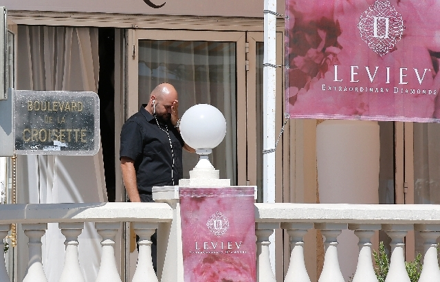 A view of the Carlton hotel, in Cannes, southern France, the scene of a daylight raid, Sunday, July 28. A staggering 40 million euro ($53 million) worth of jewels and diamonds were stolen Sunday f ...