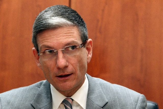 Rep. Joe Heck, R-Nev., is not interested in discussing his son's tweets.