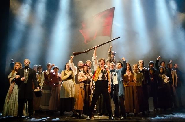 """The 25th-anniversary tour of """"Les Miserables"""" will be at The Smith Center for the Performing Arts through Sunday."""