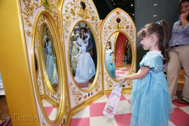 A new Fashion Show mall store follows the themed retail business model Disney launched in 2010 as part of a companywide makeover led by the late Apple CEO Steve Jobs.