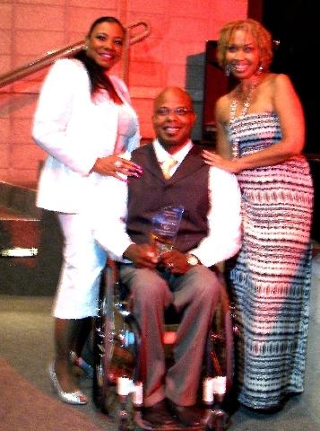 Lillian McMorris, from left, Reggie Bennett and Tshlene Henreid