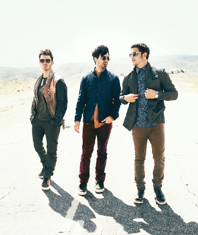 The Jonas Brothers will be performing at 7 p.m. Saturday at Mandalay Bay Events Center.